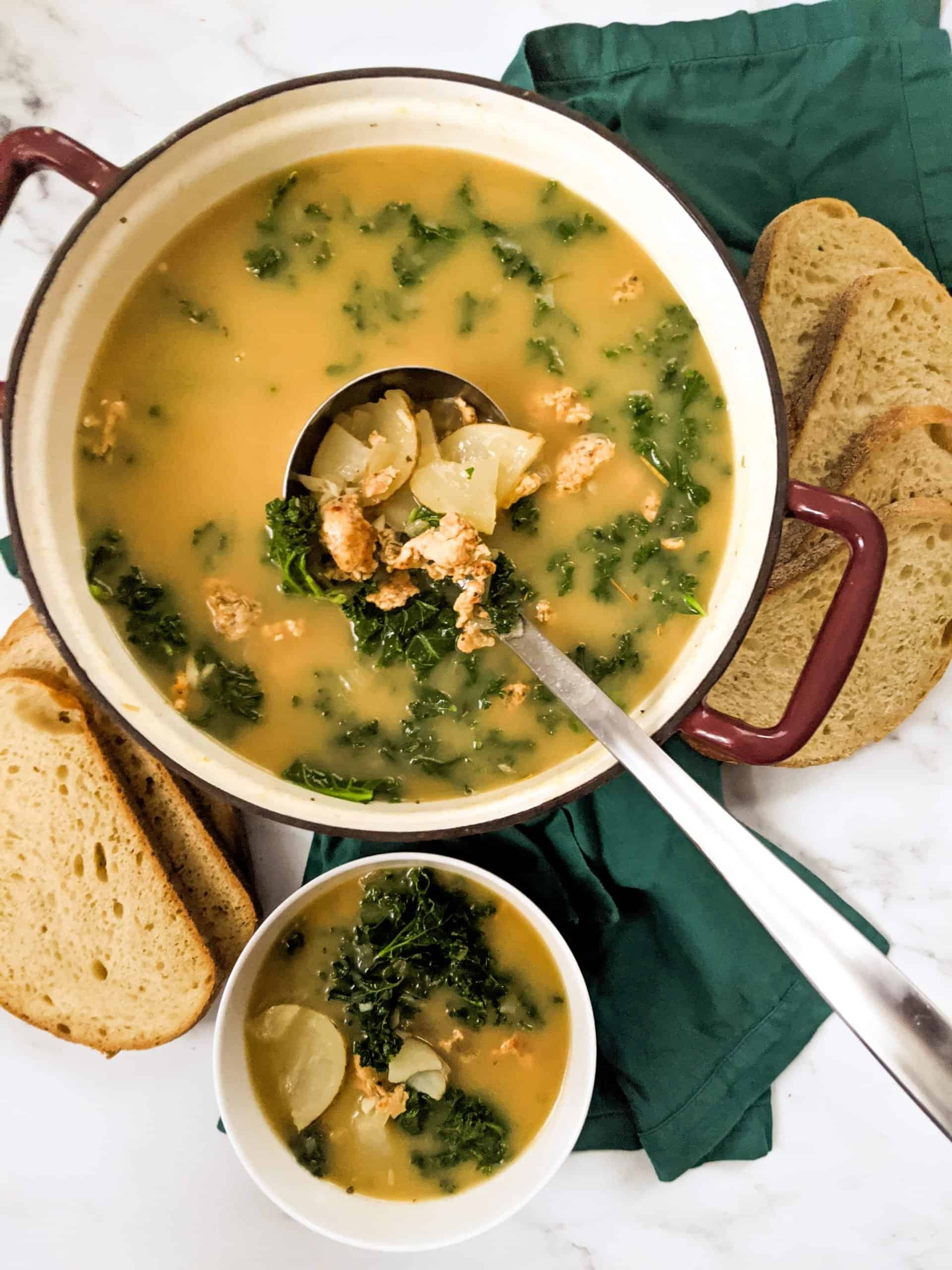 Dwardcooks Healthy Zuppa Toscana Weight Watchers Recipe