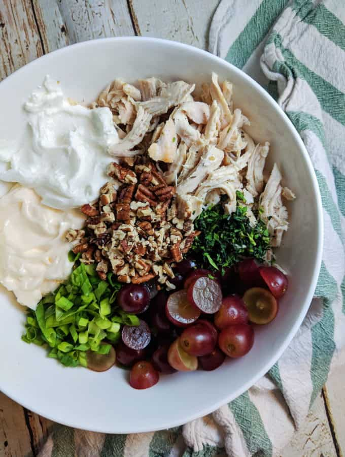 Boujee Chicken Salad