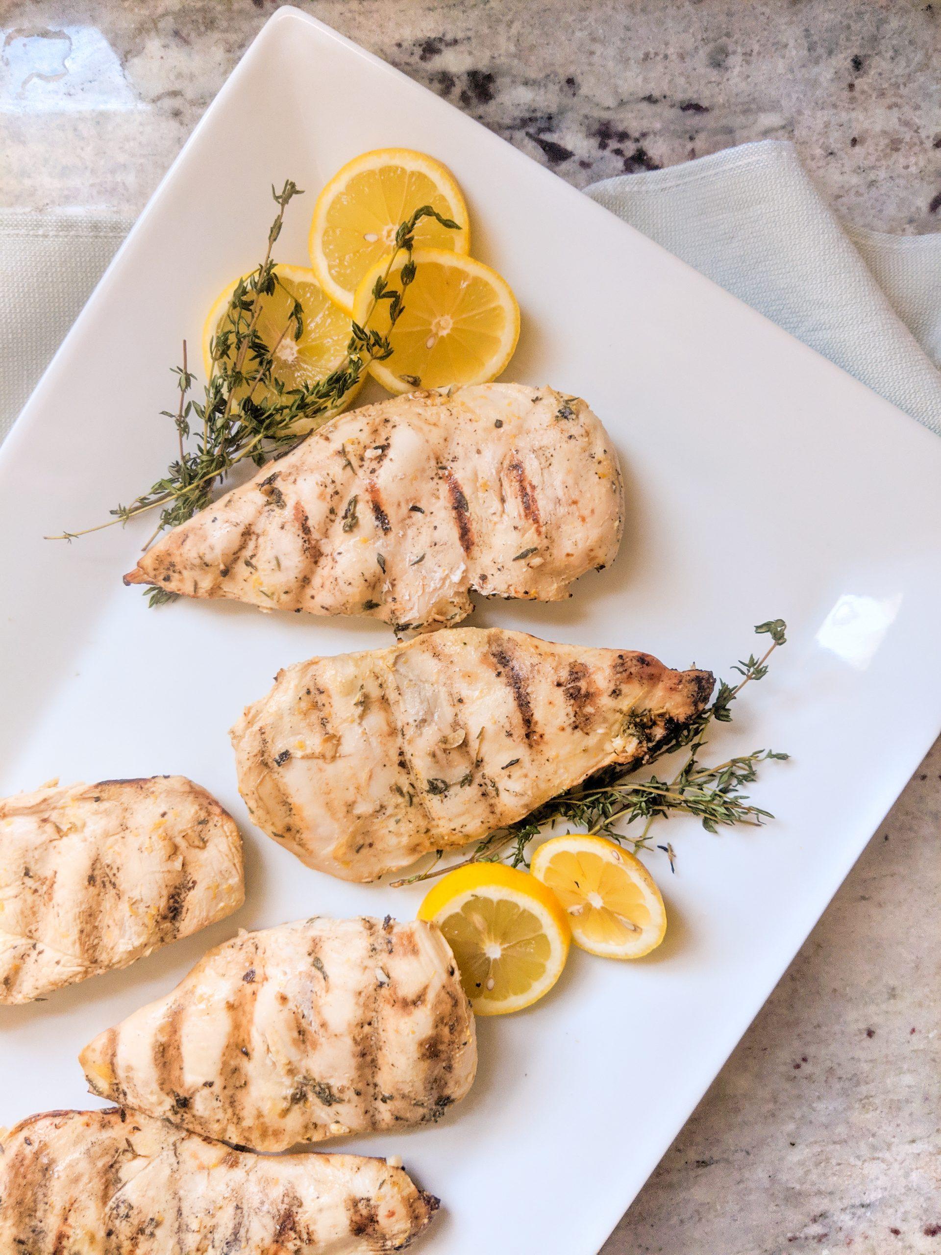 easy lemon dijon chicken marinade