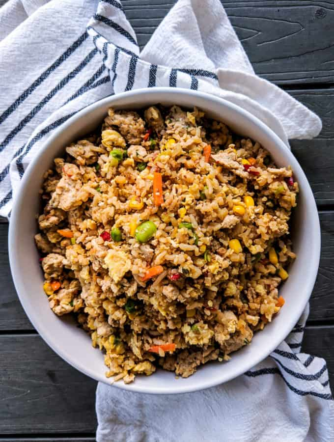 Dwardcooks Chicken Fried Rice