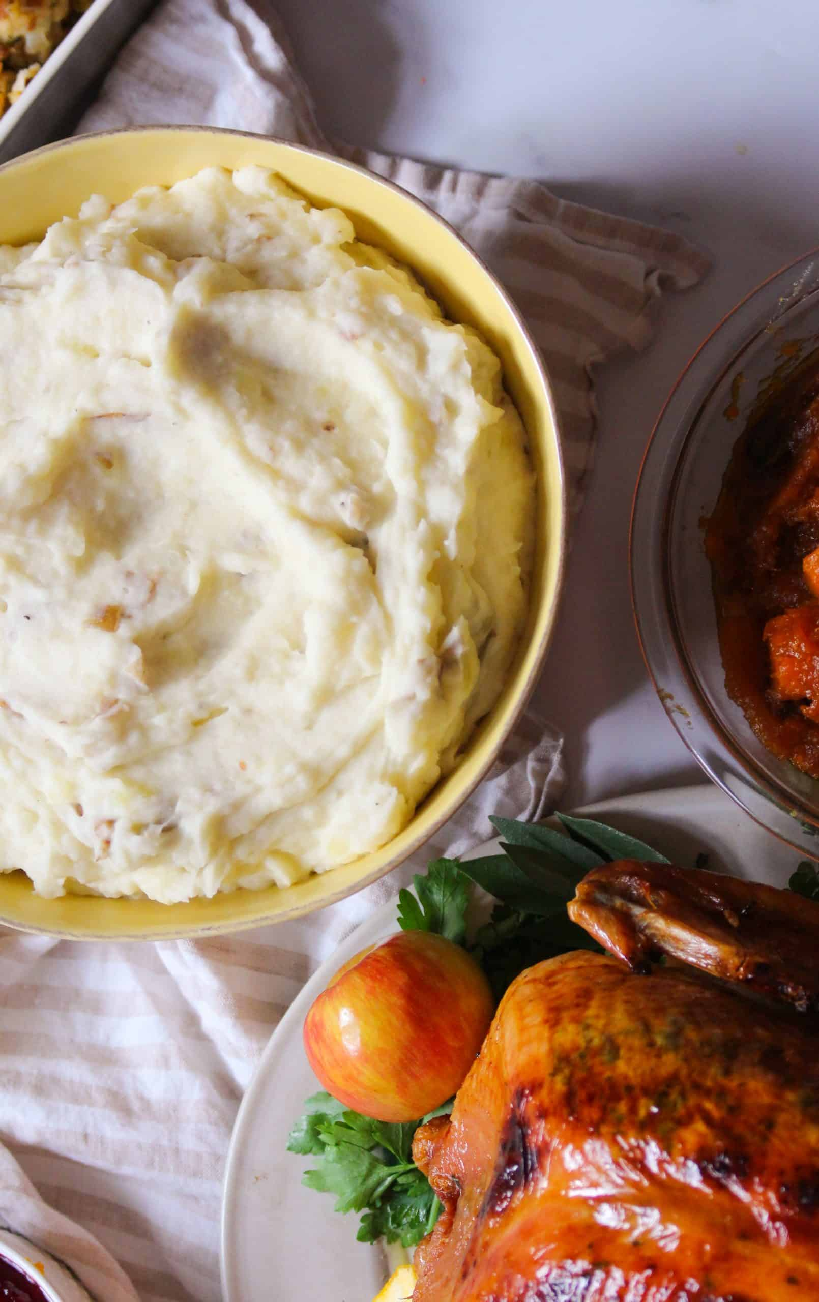 Dwardcooks Creamy Mashed Potatoes Thanksgiving