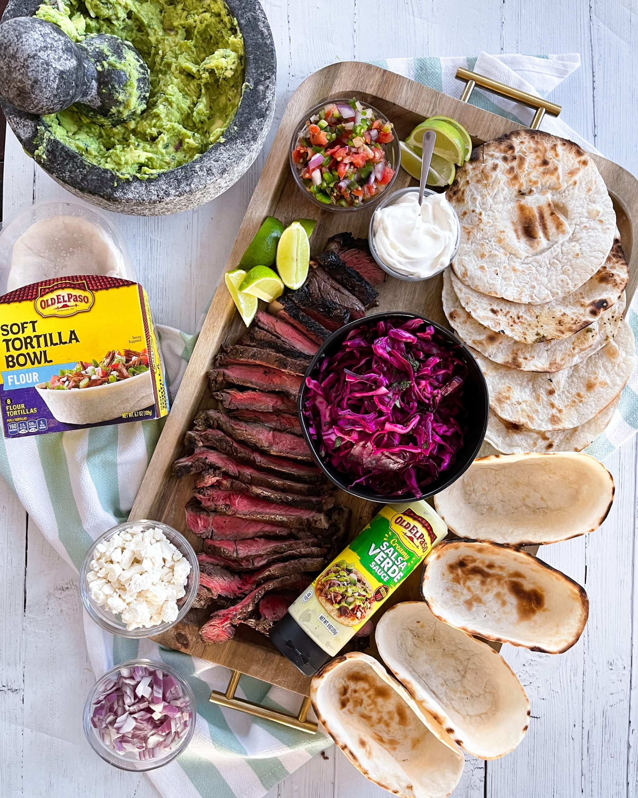 What to serve with steak tacos